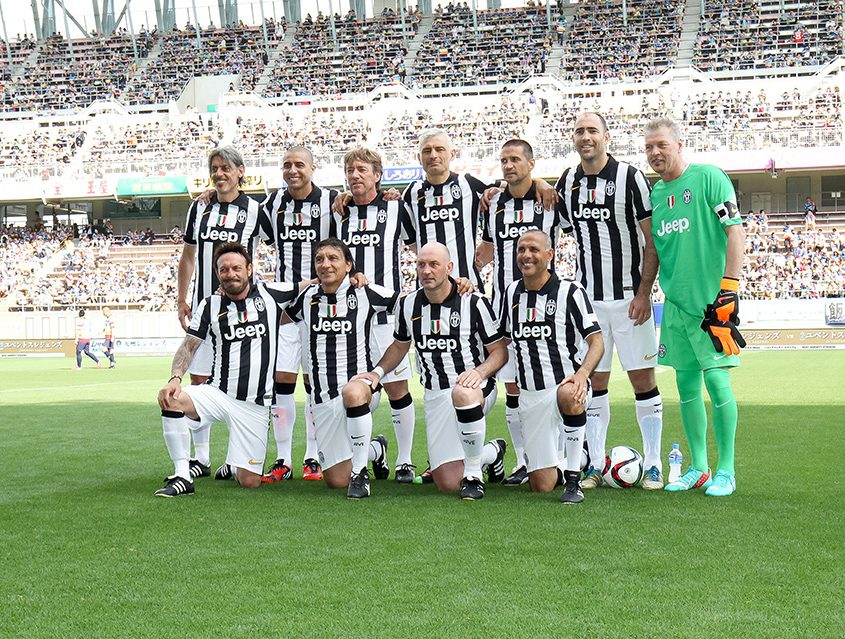 Juventus Legends Kyushu 2016 – Photo Credit: Sagan Dreams Co., LTD